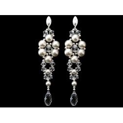 Biżuteria ślubna z kryształami Swarovskiego® KR49