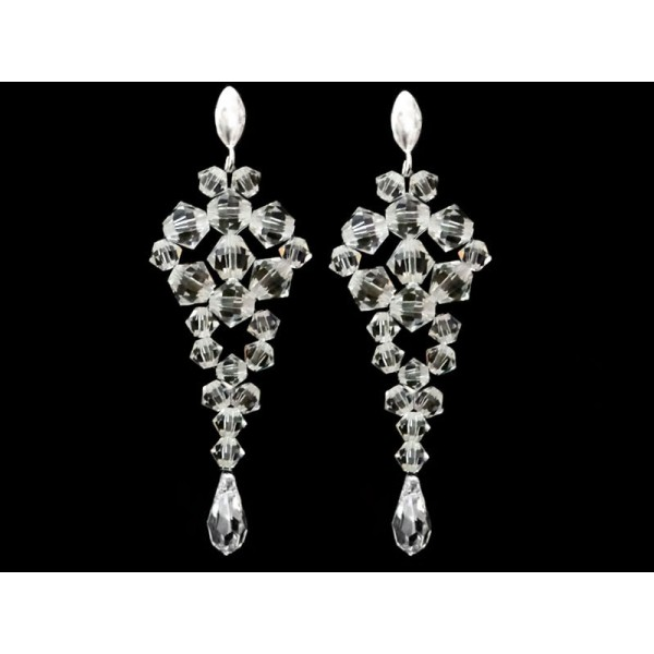 Biżuteria ślubna z kryształami Swarovskiego® KR50