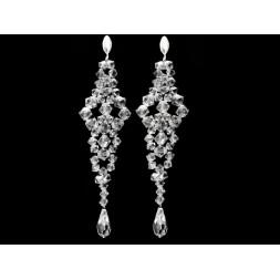 Biżuteria ślubna z kryształami Swarovskiego® KR50 - 10 cm