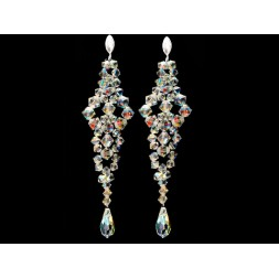 Biżuteria ślubna z kryształami Swarovskiego® KR50 AB- 10cm