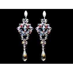 Biżuteria ślubna z kryształami Swarovskiego® KR50 AB 6 cm