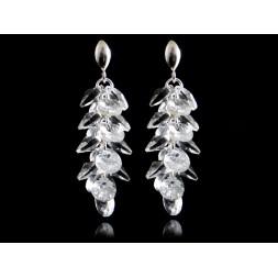 Biżuteria ślubna kolczyki z kryształami Swarovskiego® KR114