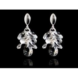 Kolczyki srebrne z kryształkami Swarovskiego®  KR115