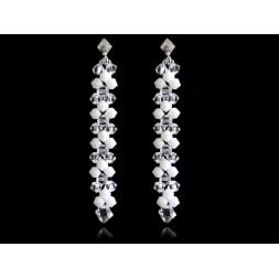 Biżuteria ślubna z kryształkami Swarovskiego® KR117