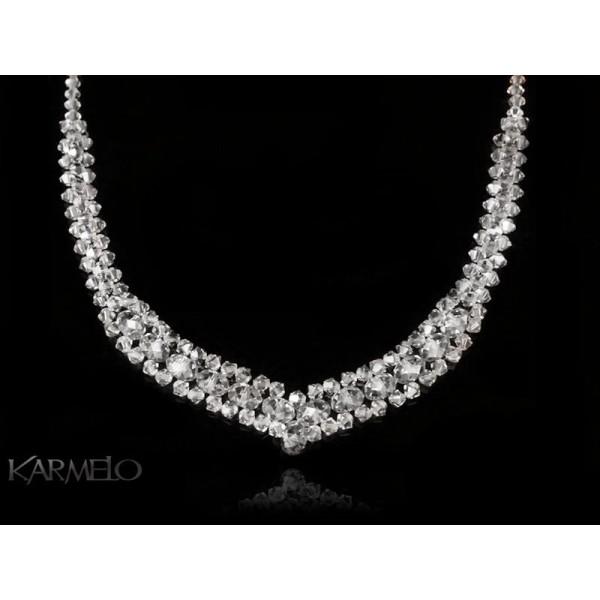 Naszyjnik z kryształami Swarovskiego® NK11