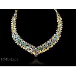 Naszyjnik z kryształami Swarovskiego® NK10 AB