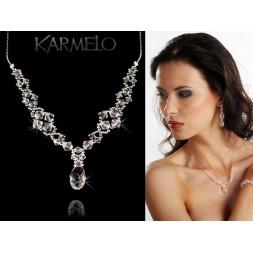 Biżuteria ślubna z kryształami Swarovskiego® NK17