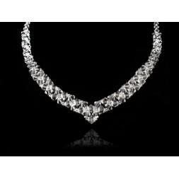 Naszyjnik kryształowy z kryształami Swarovskiego® NK40