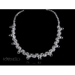 Biżuteria ślubna naszyjnik z kryształami Swarovski® NK21 crystal