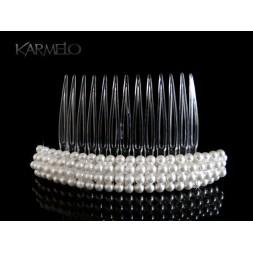Ozdoba do włosów Grzebyk z perłami Swarovski® G2