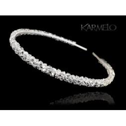 Opaska, ozdoba do włosów z kryształami Swarovski® O1