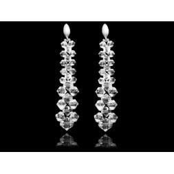 Kolczyki z kryształami Swarovski® sztyfty KR141 CRYSTAL