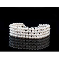 Biżuteria ślubna z perłami Swarovski® BR25