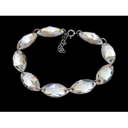 Biżuteria ślubna bransoletka kryształy Swarovski® BR166 CRYSTAL