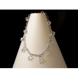 Bransoletka GRONA z kryształami Swarovski® BR160 CRYSTAL