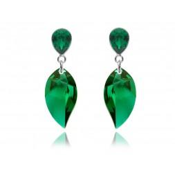 Biżuteria wieczorowa z kryształami Swarovski® KR83- emerald