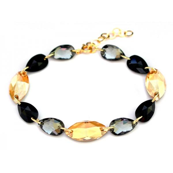 Biżuteria wieczorowa bransoletka z kryształami Swarovski® BR73