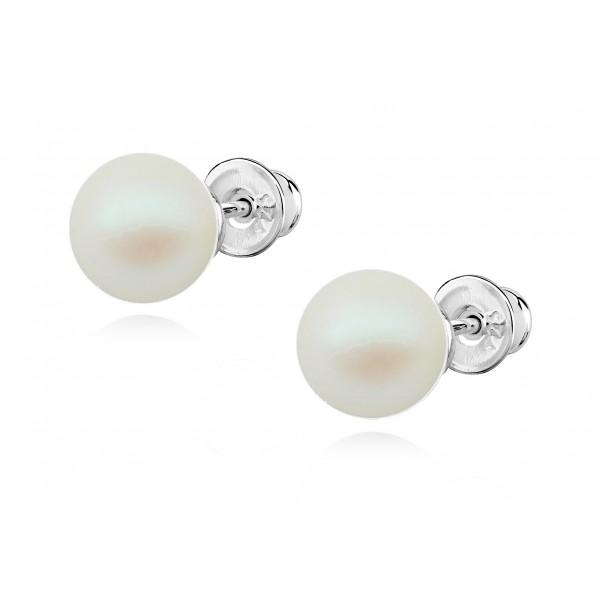 Kolczyki z perłami Swarovski® KR14 pearlescent
