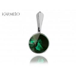 Zawieszka Rivoli Emerald- szmaragdowy