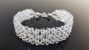 Bransoletka z kryształami Swarovski