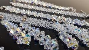 Biżuteria ślubna z kryształami